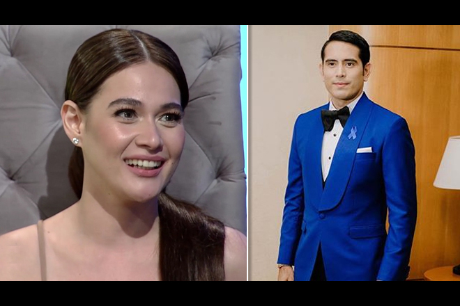 Bea Alonzo playfully likens Gerald Anderson to chocolate cake.