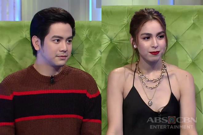 Joshua Garcia is enamored with a third party and Julia Barretto is okay with it, sort of