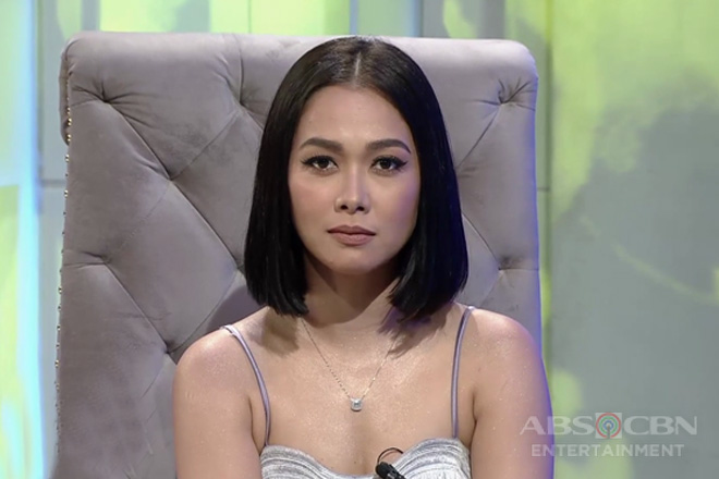 Maja Salvador reacts as Lily Cruz to bashers