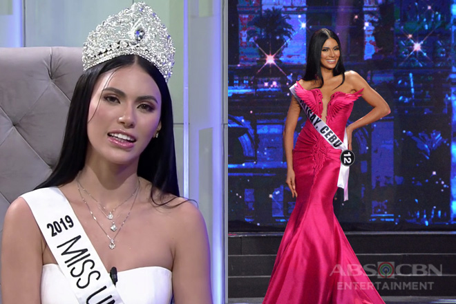 Gazini Ganados reacts to naysayers during her Bb Pilipinas 2019 performance