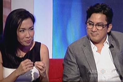 Robert Sena and Isay Alvarez share how it is working with Jadine