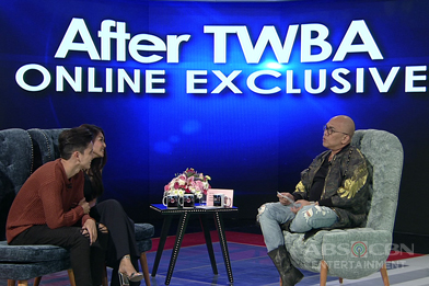 After TWBA with JaDine