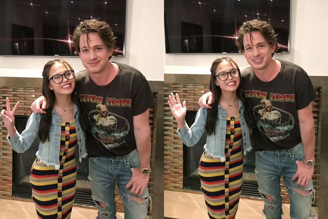AC Bonifacio shares how she got the chance to hang out with Charlie Puth