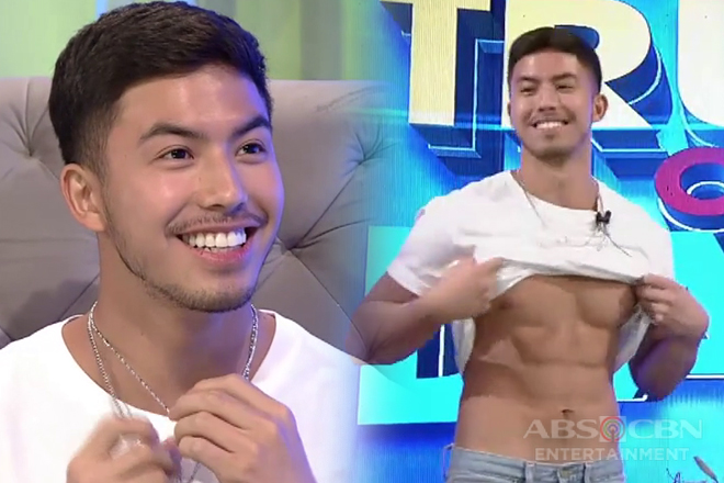 Tony Labrusca shows off his abs on TWBA Truth or Dare challenge Image Thumbnail