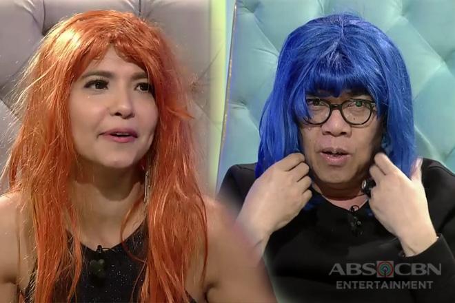 TWBA: Alessandra at Tito Boy, nagkatuwaan sa pagsuot ng wigs