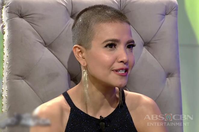 TWBA: Alessandra, nag-react sa espekulasyong sign of depression ang kanyang pagpapakalbo