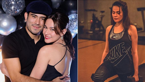 Gerald Anderson says Bea Alonzo is very disciplined when she works out Image Thumbnail