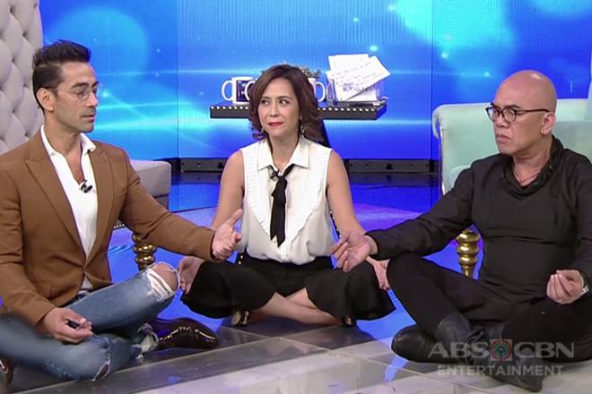 TWBA: Raymond, tinuruan si Tito Boy kung paano mag-yoga