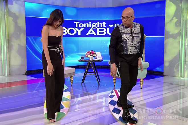 TWBA: Tito Boy learns some surfing lessons from PBB Otso batch 4 housemate Kiara