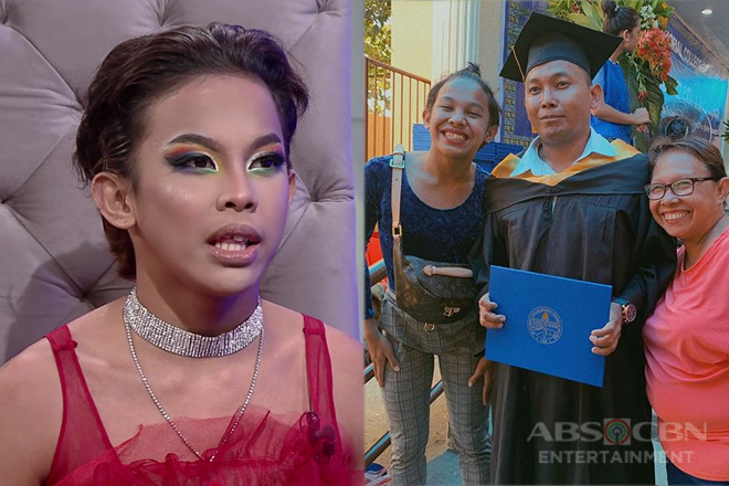 TWBA: Awra, masaya na napagtapos niya ang kanyang ama sa kolehiyo